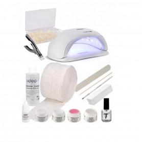 Kit de démarrage Faux Ongles - Set professionnel pour Ongle Manucure Gel UV