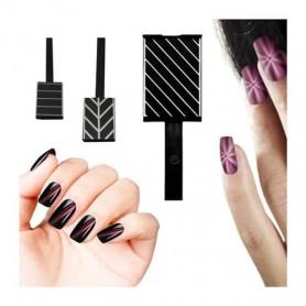 Aimant pour vernis magnétique Design Lignes Diagonales Urban Nails
