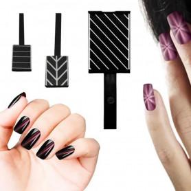 Aimant pour vernis magnétique Design Lignes d'Horizon Urban Nails