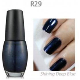 Vernis Regulier Shinning Deep Blue Bleu perle Konad