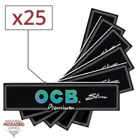 Feuilles Slim OCB PREMIUM par 25