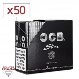 Feuilles Slim OCB PREMIUM par 50