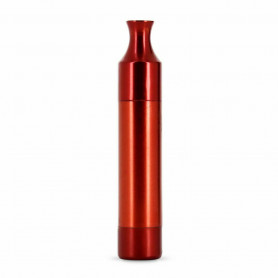 Pipe Sèche Vaporisateur THE WEED BOMB Red