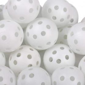 Airflow Ball, Balles d'entrainement au golf pour le jardin 12 Balles Blanches
