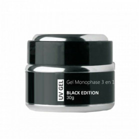 Gel UV Monophase 3 en 1 Urban Nails France Black Edition 30ml ou 30g (Usage intensif)