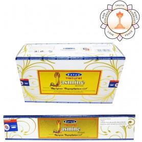 Encens naturel Jasmin Satya Sai Baba 8x (96 batons)