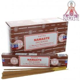 Encens indien relaxation Namaste Satya 2x (24 batons)