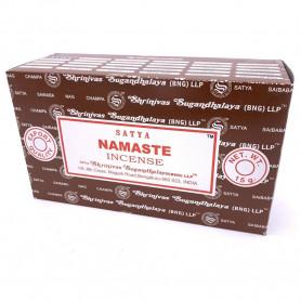 Encens indien relaxation Namaste Satya 8x (96 batons)