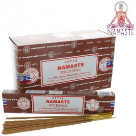 Encens indien relaxation Namaste Satya 12x (144 batons soit 1 boite complète)