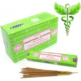 Encens indien médicinal Traditional Ayurveda Satya Sai Baba 8x (96 batons)