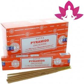 Encens indien d'ambiance Pyramids Satya Sai Baba 3x (36 batons)
