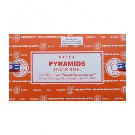 Encens indien d'ambiance Pyramids Satya Sai Baba 8x (96 batons)