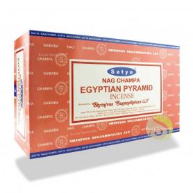 Encens indien d'ambiance Pyramids Satya Sai Baba 12x (144 batons soit 1 boite complète)