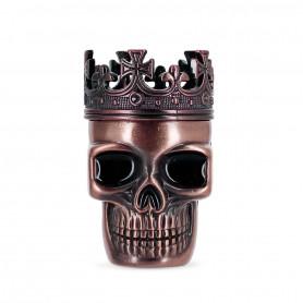 Grinder Skull Tête de mort 3 parties Red