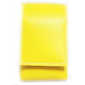 Etui cigarettes en cuir 90/100mm Urban Design Yellow