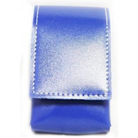 Etui cigarettes en cuir 90/100mm Urban Design Bleu Chic