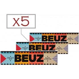 Feuilles a rouler Beuz King Size Slim par 5