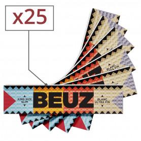 Feuilles a rouler Beuz King Size Slim par 25