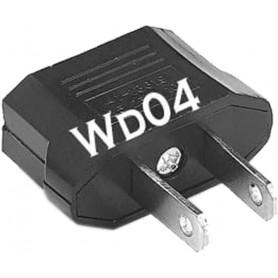 Adaptateur secteur de voyage WD04 FR vers Chine, USA