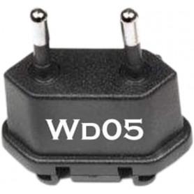 Adaptateur secteur de voyage WD05 Chine, USA vers FR