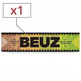 Feuilles slim Beuz brown par 1