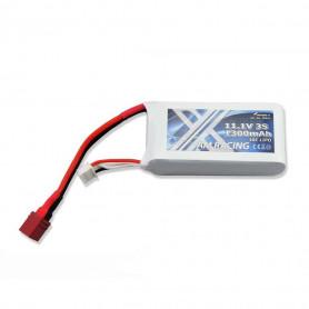 Batterie LiPo 3S 1300mAh 11.1V 40C Dean T