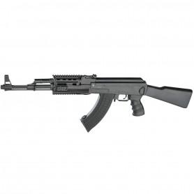 Réplique Airsoft Fusil d'assaut AK47 Kalashnikov AEG Tactical Full Stock 1.4J