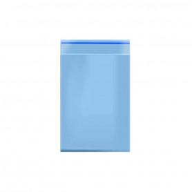 Lot de 100 sachets Zip 40x60mm 60 microns Bleu