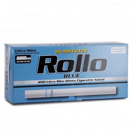 Boite de 200 tubes à cigarette Rollo Blue Ultra Slim