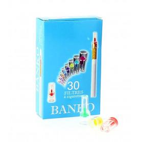 Lot de 30 filtres porte cigarettes Banko