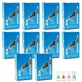 Pack de 300 filtres porte cigarettes Banko