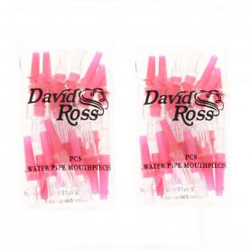 Pack de 48 filtres à narguilé anti nicotine et goudron David Ross