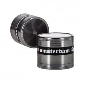 Grinder Cyclone Dope Bros Amsterdam 4 Parties XXL 60 mm Metal