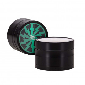 Grinder Dope Bros type Thorinder 4 Parties 62 mm Vert Noir