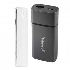 Pack Briquet USB Soft Touch Blanc à résistance et chargeur externe autonome