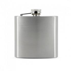 Flasque a alcool Zorr Stainless Steel Finition Métal Brossé Format 6 oz 180 ml