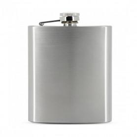 Flasque a alcool Zorr Stainless Steel Finition Métal Brossé Format 7 oz 210 ml