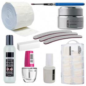 Kit Manucure de Démarrage Gel UV Silver Serie S
