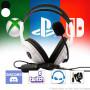 Casque Gamer avec micro SPX-100 V2 Noir pour PS4 Xbox One et Nintendo Switch
