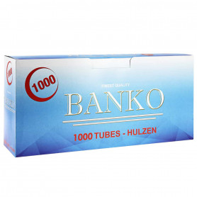 Tubes à cigarettes Banko par 1000