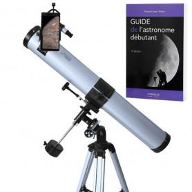 Pack complet télescope XXL Universe Astrophotographie 900-76 avec Zoom et guide débutant