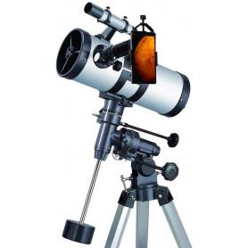Pack complet télescope XXL Astrophotographie 1000-114 avec Zoom et guide Débutant