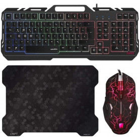 Pack Clavier Souris Tapis Gamer ORIOS WASDKEY compatible PS4, PS3 et Xbox One