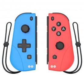 Lot de Manettes Con de remplacement Bleu et Rouge pour Nintendo Switch