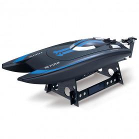 Bateau RC Catamaran SpeedBoat Télécommandé 2.4 Ghz Bleu