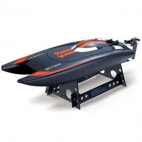 Bateau Télécommandé Catamaran RC SpeedBoat 2.4 Ghz Orange