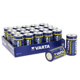 Blister 20 Piles Industrielles LR14 VARTA Industrial Alcaline