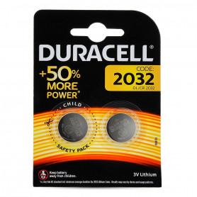 Pile Duracell Lithium CR2032 pour Balance électronique, Ceinture ElectroStimulation, BIOS PC