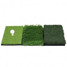 Tapis de Practice Golf Ruff Semi-Ruff et Fairway 3 en 1