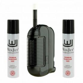 Pack Vaporisateur Portable Iolite Original 2.0 Noir + Gaz Butane Zero Impurete